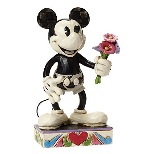 "Department 56 Disney Traditions by Jim Shore Mickey Mouse Figurine, 6"" - SHOPME.COM"