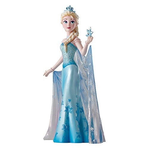 Enesco Disney Showcase Queen Elsa Couture de Force Stone Resin Figurine - SHOPME.COM