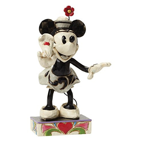"Department 56 Disney Traditions by Jim Shore Minnie Mouse Figurine, 6"" - SHOPME.COM"