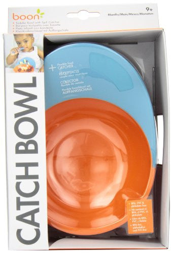 Boon Catch Bowl with Spill Catcher - SHOPME.COM