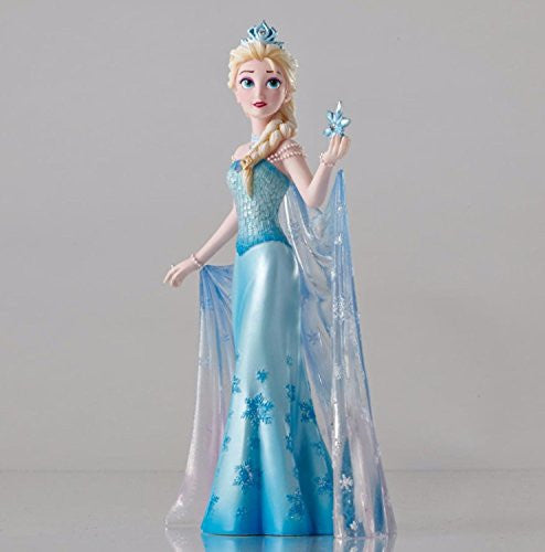 "Department 56 Disney Showcase Frozen ""Elsa Couture de Force"" Figurine #4045446 - SHOPME.COM"