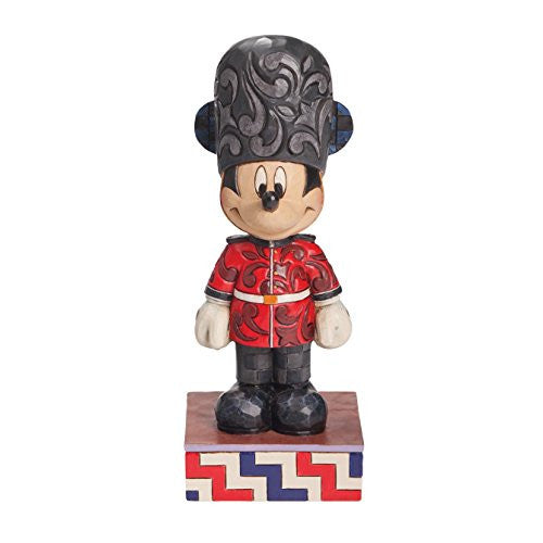 Enesco Disney Traditions by Jim Shore Mickey in England Figurine, 6.5 IN - SHOPME.COM