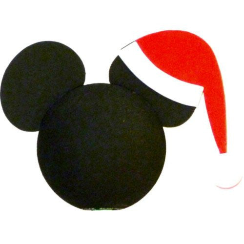 Disney Pencil and Antenna Topper (Mickey Mouse Santa)