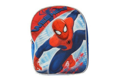 "Marvel Spider man 10"" Mini Backpack - SHOPME.COM"