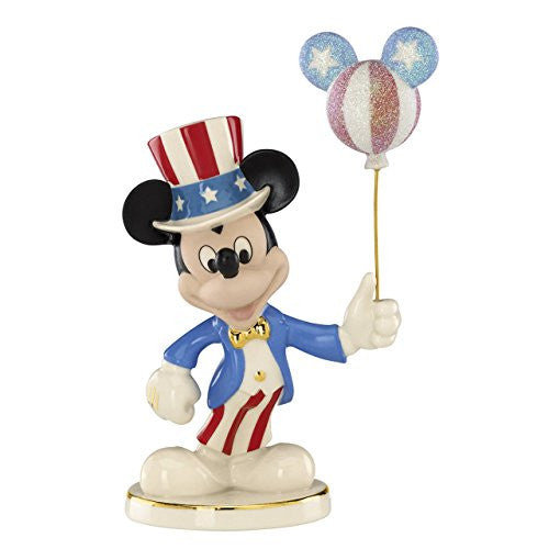 Disney's Americana Mickey Figurine by Lenox - SHOPME.COM