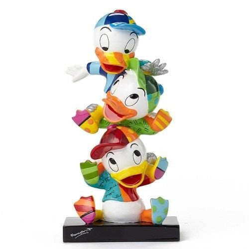 Enesco Disney Britto Huey Dewey and Louie Stacked