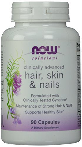 Now Foods Clinically Advanced Hair, Skin And Nail Capsules, 90 Count