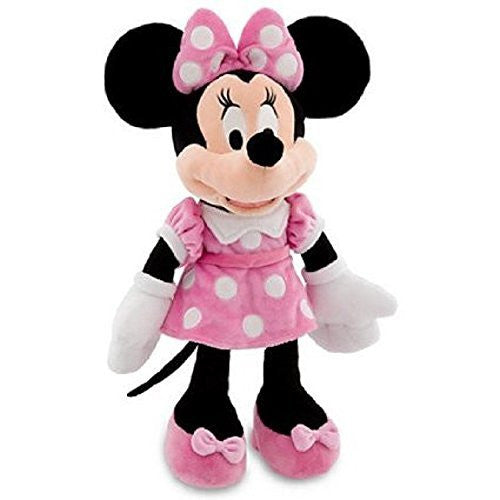 Disney Mickey Mouse Clubhouse Minnie Mouse Plush Toy - Pink Dress -- 19'' H (2012) - SHOPME.COM