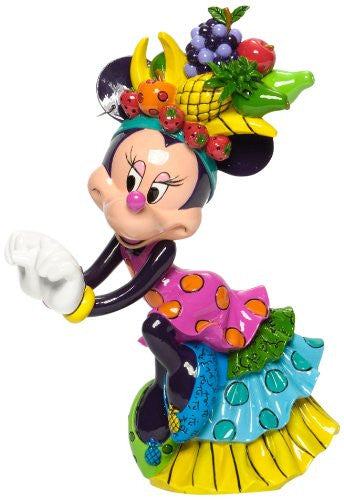 Enesco Disney by Britto Minnie Mouse Samba Figurine 8.5-Inch - SHOPME.COM