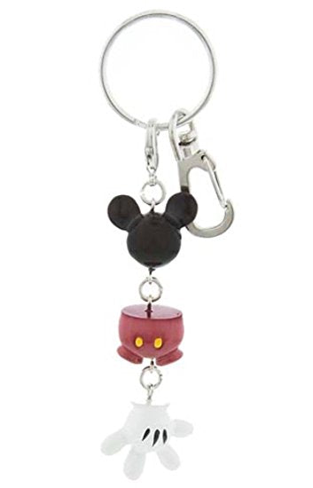 Disney Best of Mickey Mouse (Body Parts) Key Chain - Disney Parks Exclusive & Limited Availability - SHOPME.COM