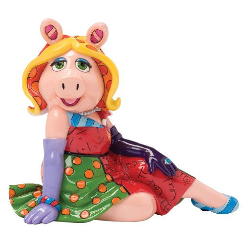 Enesco Disney by Britto Miss Piggy Figurine, 7-Inch - SHOPME.COM