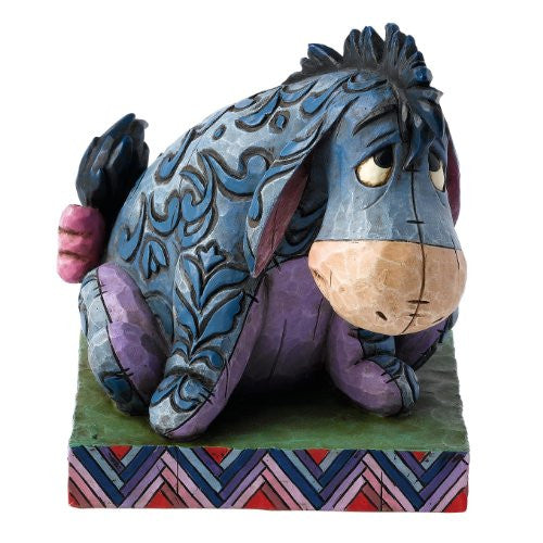 Disney Traditions by Jim Shore 4011755 Eeyore Personality Pose Figurine 3-1/2-Inch - SHOPME.COM