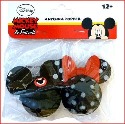 Mickey Mouse Club and Minnie Mouse Polkadot Antenna Toppers - SHOPME.COM