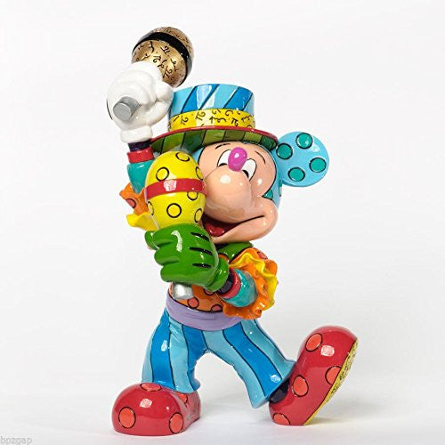 Enesco Disney by Britto Mickey Mouse Samba Figurine 9.5-Inch - SHOPME.COM