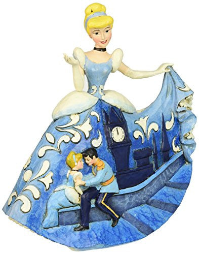"Department 56 Disney Traditions by Jim Shore Cinderella 65th Anniversary Figurine, 7.25"" - SHOPME.COM"