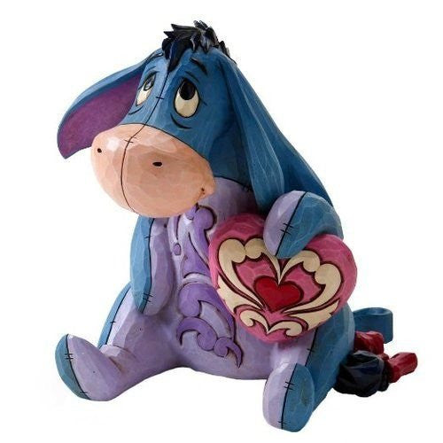 "Disney Traditions by Jim Shore Eeyore Figurine ""You Are Loved"" (4026088) - SHOPME.COM"