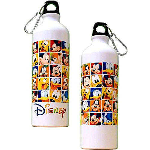 Disney Rubik's Mickey Mouse Aluminium Water Bottle - SHOPME.COM