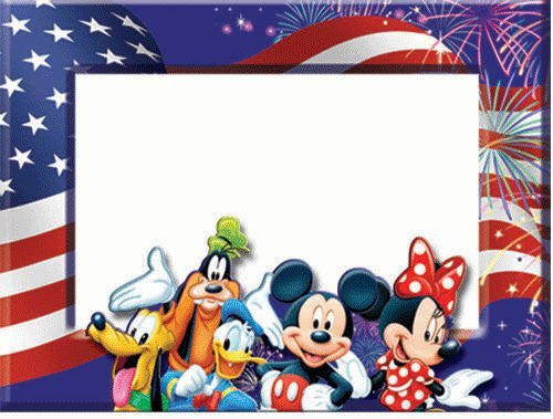 Disney Mickey Mouse Donald Goofy Minnie Pluto Americana Picture ...