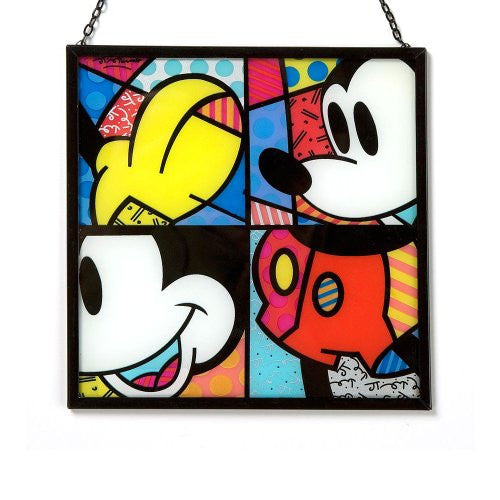 "Disney by Britto from Enesco Mickey Suncatcher 7"". - SHOPME.COM"