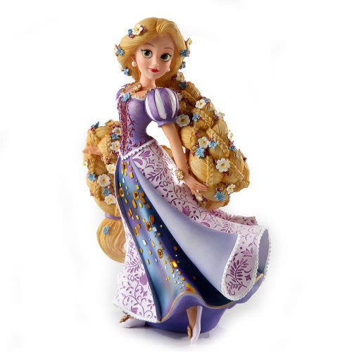 Enesco Disney Showcase Rapunzel Couture de Force Princess Stone Resin Figurine - SHOPME.COM