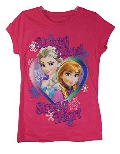 DISNEY'S ELSA AND ANNA GIRLS TSHIRT (X-SMALL) - SHOPME.COM