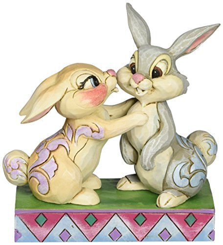 "Department 56 Disney Traditions by Jim Shore Thumper and Miss Bunny Figurine, 5"" - SHOPME.COM"