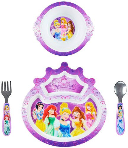 Disney Princesse 4 Piece Feeding Set - SHOPME.COM