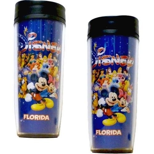 Disney Americana Character Mickey Group Travel Mug - SHOPME.COM