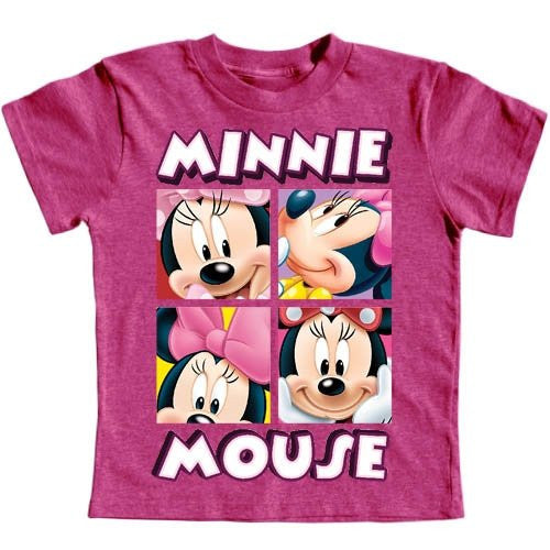 Minnie Mouse Toddler Girls 2T-4T Character T Shirt - SHOPME.COM