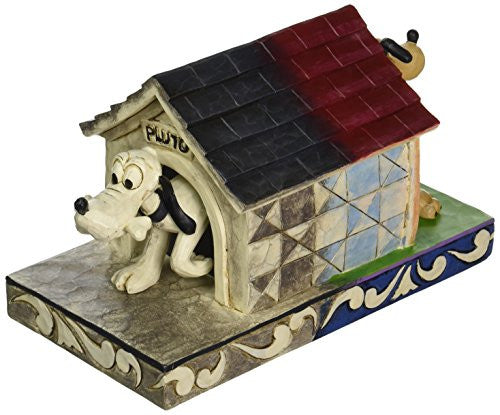 "Department 56 Disney Traditions by Jim Shore Pluto 85th Anniversary Figurine, 5"" - SHOPME.COM"