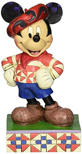 Enesco Disney Traditions by Jim Shore Mickey in France Figurine, 6 IN - SHOPME.COM