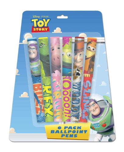 Toy Story Clip Top Pens, 6 Pack (10719A) - SHOPME.COM