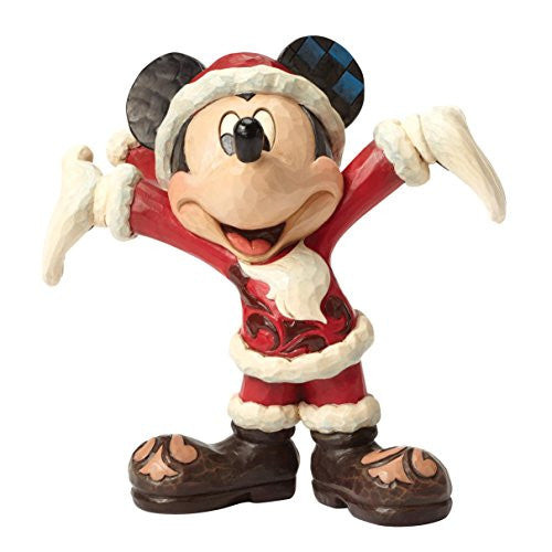 Disney Showcase Santa Mickey Figurine - SHOPME.COM