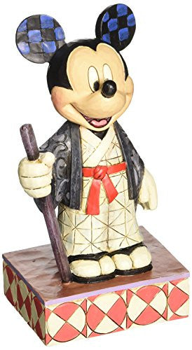 Enesco Disney Traditions by Jim Shore Mickey in Japan Figurine, 6 IN - SHOPME.COM