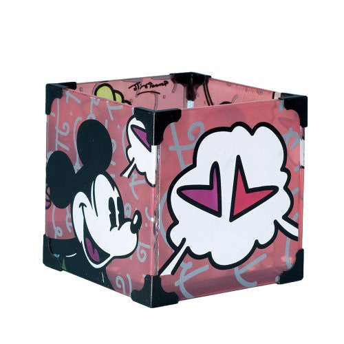 "Disney by Britto from Enesco Mickey & Minnie Votive 3.5"". - SHOPME.COM"