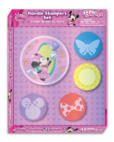 National Design Minnie Jumbo Stamper Set (12838A) - SHOPME.COM
