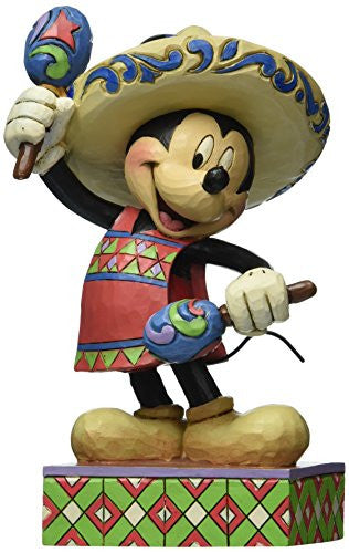 Enesco Disney Traditions by Jim Shore Mickey in Mexico Figurine, 6 IN - SHOPME.COM