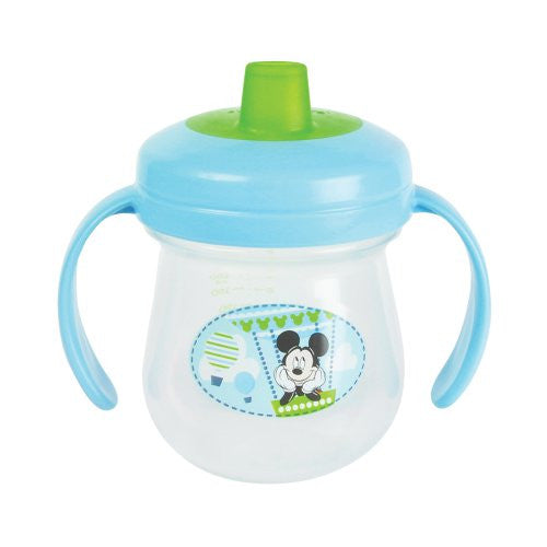 The First Years Baby Mickey Mouse Soft Spout Trainer Cup with Handles - 7 oz, 1 pack - SHOPME.COM