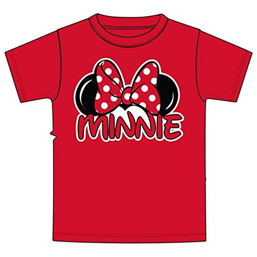 Disney Minnie Mouse Little & Big Girls Family T Shirt - SHOPME.COM