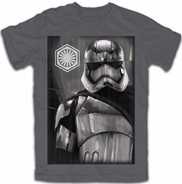 Star Wars Boys' The Force Awakens Storm Trooper T Shirt - SHOPME.COM