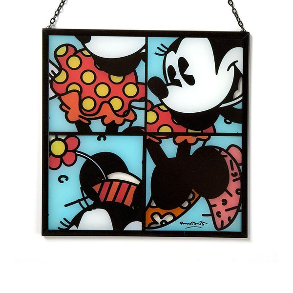 "Disney by Britto from Enesco Minnie Suncatcher 7"". - SHOPME.COM"