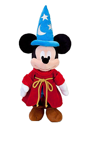 Disney Mickey Mouse Sorcerer 24in Plush - Mickey Stuffed Animal - SHOPME.COM