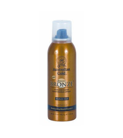 Australian Gold Forever Bronze Sunless Clear Continuous Spray