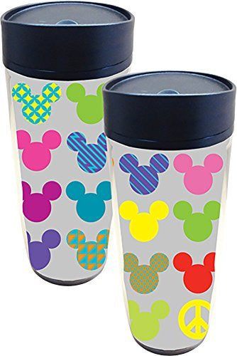 Disney Mickey Mouse Head Pop Travel Mug - SHOPME.COM