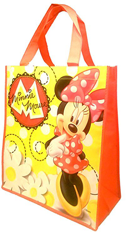 Disney Minnie Mouse Tote Bag - Reusable - SHOPME.COM