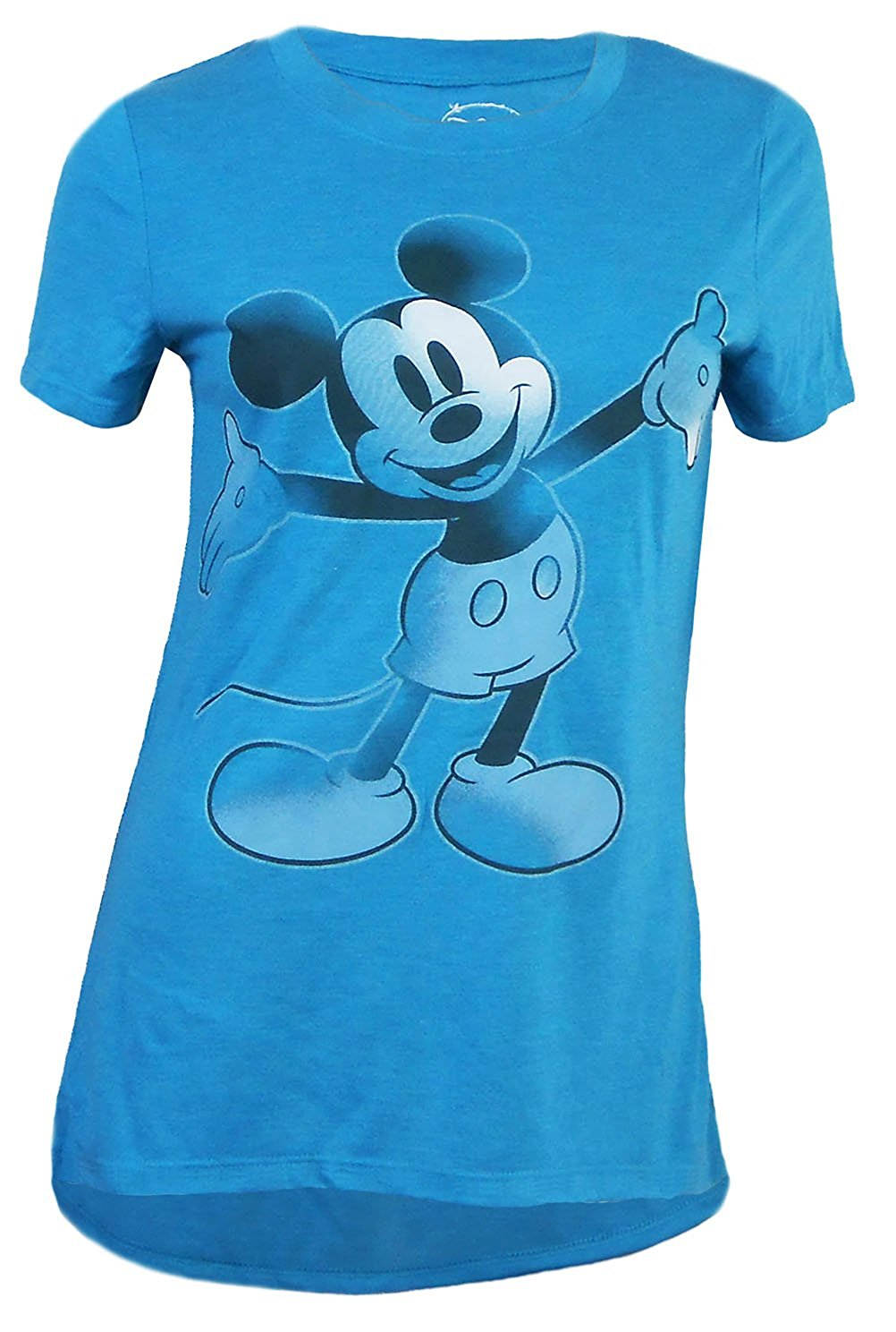 Disney Touch O Mickey Mouse Tee Fashion T Shirt Junior Girls Top - SHOPME.COM