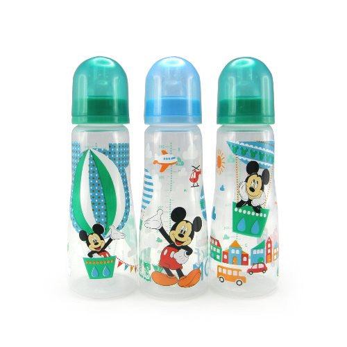 The First Years Disney Slim Bottles, 3 Count - SHOPME.COM