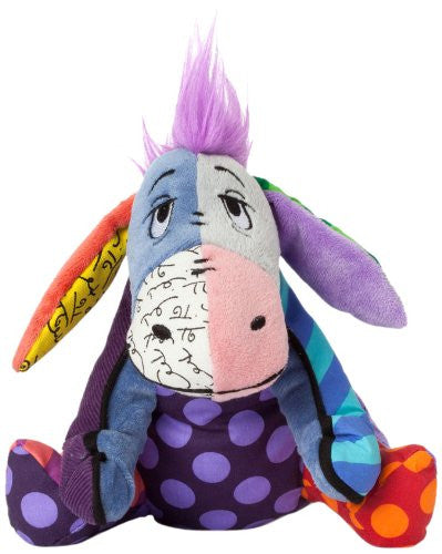 Disney Romero Britto Winnie Eeyore Small Plush - SHOPME.COM