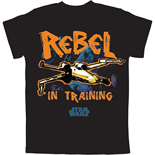 Star Wars Rebel in Training Big Boys Graphic T Shirt - SHOPME.COM