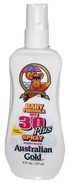 Australian Gold (Spf 30) Plus Spray Baby Formula